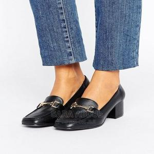 Women Heel Shoe Loafer Classy Style Office Smart Shoes | Shoes for sale in Addis Ababa, Arada