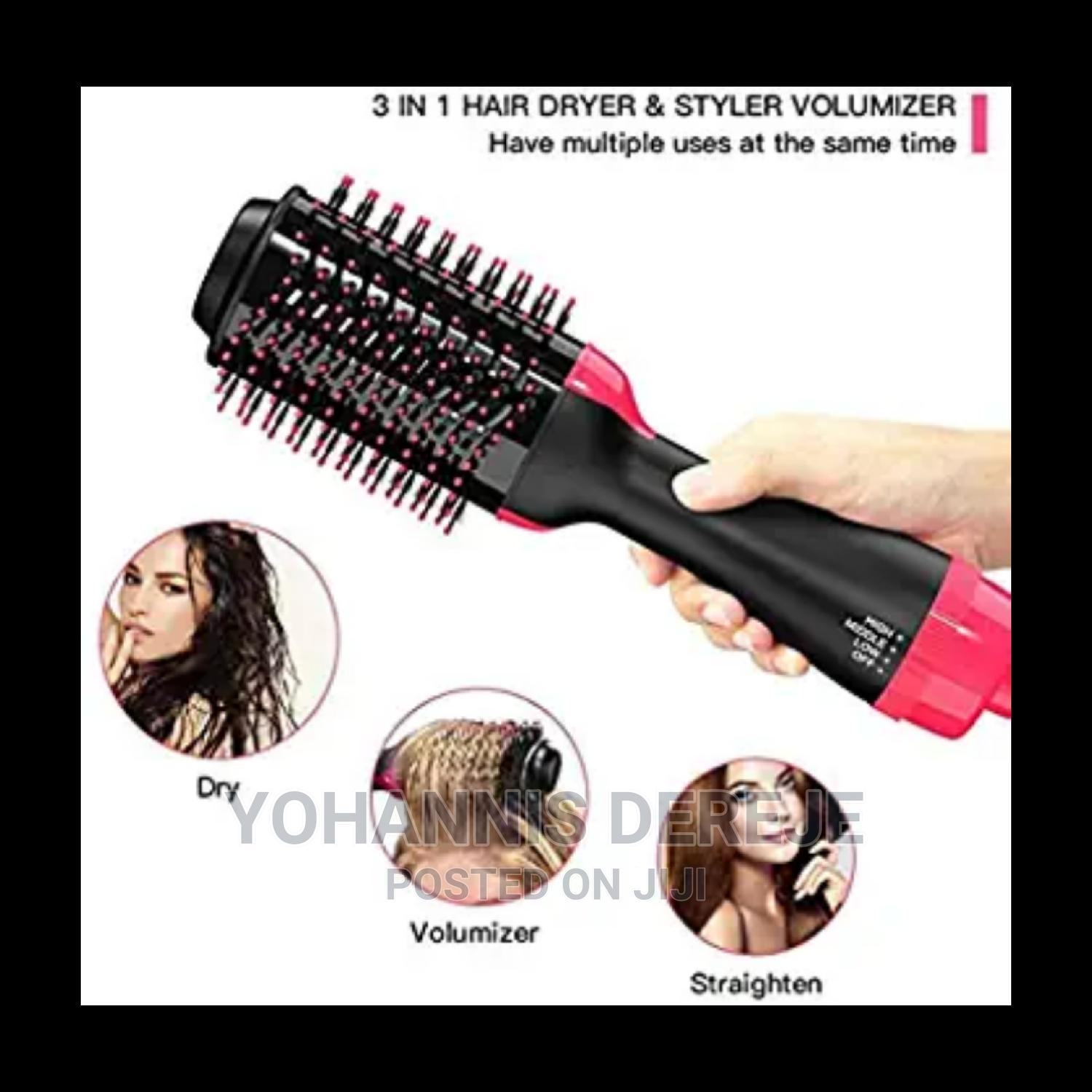 3 in 1 Step Hair Dryer and Styler