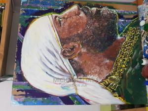 Emperor Menilik Paint on Wood | Arts & Crafts for sale in Addis Ababa, Nifas Silk-Lafto