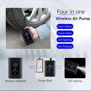 Portable Wireless Air Compressor Power-Bank   Vehicle Parts & Accessories for sale in Addis Ababa, Bole