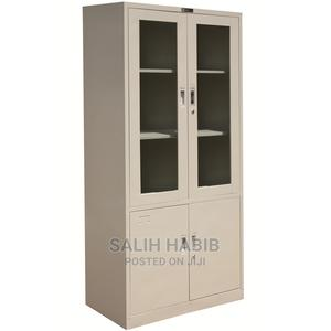Metal Shelf With Half-Glass (Rigid) | Furniture for sale in Addis Ababa, Arada