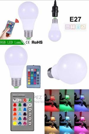 Color Changing LED Bulb With Remote Control   Home Accessories for sale in Addis Ababa, Bole