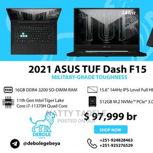 New Laptop Asus TUF Gaming FX504 16GB Intel Core I7 SSD 512GB   Laptops & Computers for sale in Addis Ababa, Bole