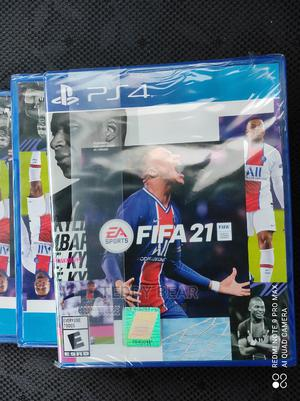 Fifa 21 PS4/Ps5 Brand New Packed | Video Games for sale in Addis Ababa, Kolfe Keranio