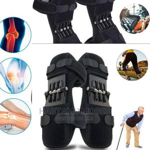 1/2 Pair Power Knee Leg Stabilizer Pads Lift Joint Support | Sports Equipment for sale in Addis Ababa, Akaky Kaliti