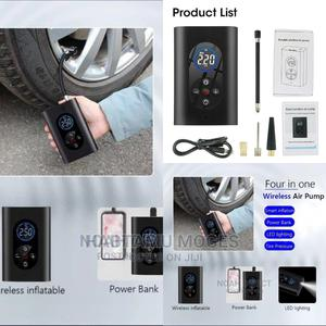 4 in 1 Portable Wireless Air Compressor | Accessories & Supplies for Electronics for sale in Addis Ababa, Akaky Kaliti