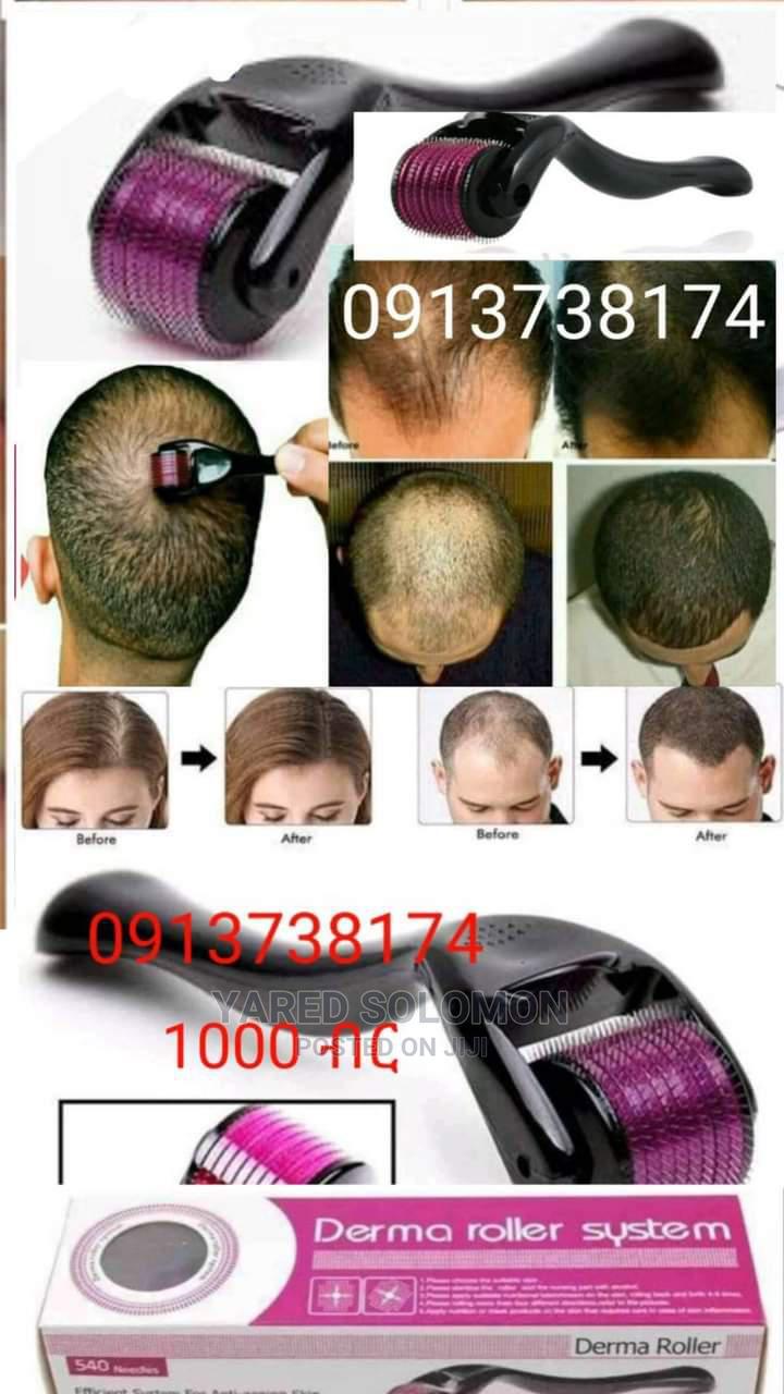Derma Roller Hair Regrowth