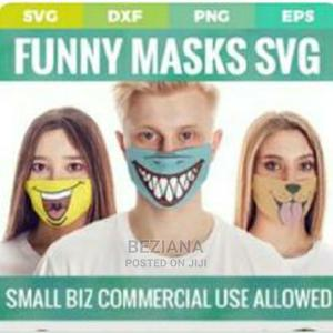 Face Mask በሚያማምሩ ዲዛኖች ይዘዙን   Clothing Accessories for sale in Addis Ababa, Yeka