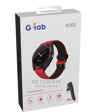 G-Tab W302 Smart Watch With Sim Card | Smart Watches & Trackers for sale in Addis Ababa, Lideta