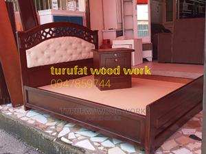 New 1.50cm Bed | Furniture for sale in Addis Ababa, Yeka