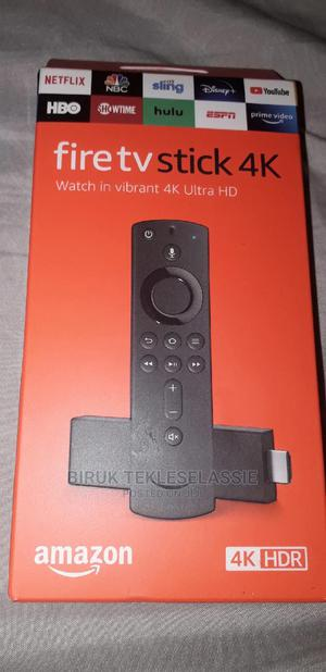 Amazon Fire TV Stick 4K With Alexa Voice Remote   TV & DVD Equipment for sale in Addis Ababa, Arada