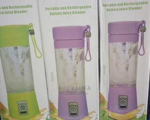 Portable Rechargable Battery Juice Blender | Accessories & Supplies for Electronics for sale in Addis Ababa, Bole