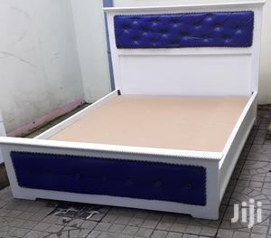 New Design Leather Bed 1.50cm | Furniture for sale in Addis Ababa, Bole