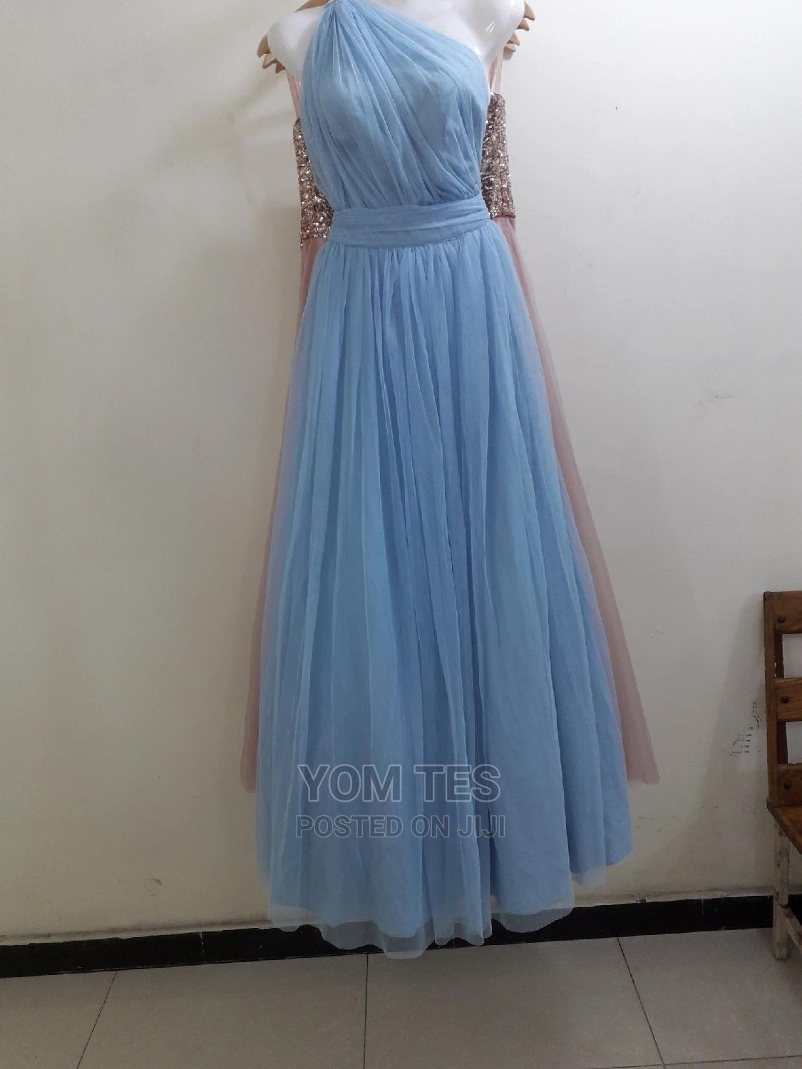 Occasion and Prom Dress for Rent in Light Blue Clr | Clothing for sale in Bole, Addis Ababa, Ethiopia