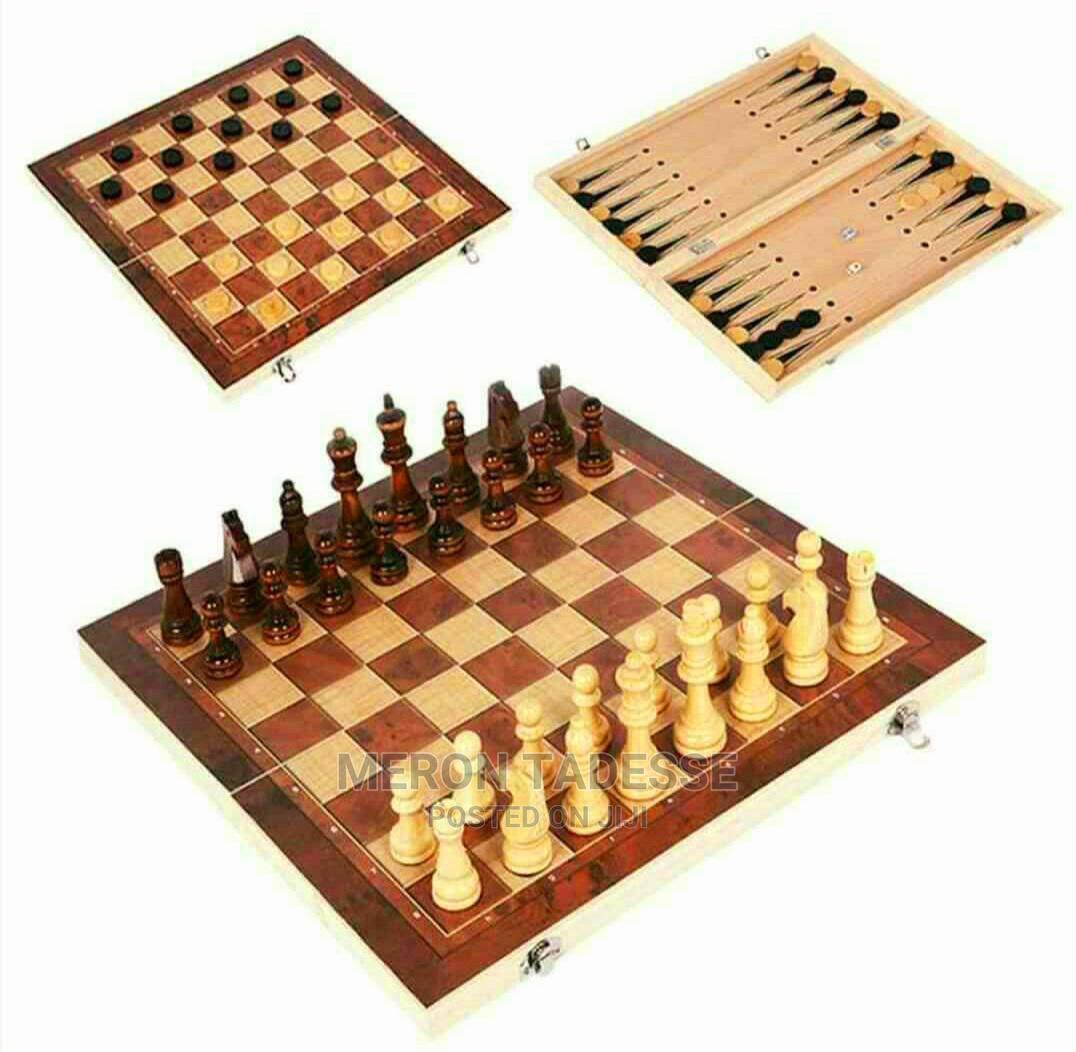 Chess Checkers Backgammon Board Call/