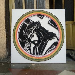 Jusus With the Cross String Art | Arts & Crafts for sale in Addis Ababa, Nifas Silk-Lafto
