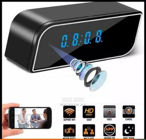 Digital Clock With Security Camera   Security & Surveillance for sale in Addis Ababa, Bole