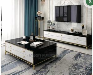 Luxury Tv Stand With Coffee Table Set | Furniture for sale in Addis Ababa, Bole