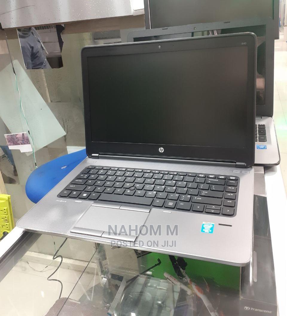 Archive: Laptop HP ProBook 640 G1 6GB Intel Core I5 HDD 500GB
