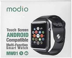 Modio Smart Watch ሲም ካርድ እና ሚሞሪ የሚቀበል | Smart Watches & Trackers for sale in Addis Ababa, Arada