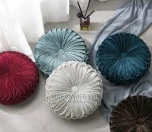 Velvet Pleated Throw Pillow | Home Accessories for sale in Addis Ababa, Bole