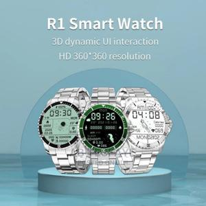 New R1 Smart Watch Metal Strap | Smart Watches & Trackers for sale in Addis Ababa, Lideta