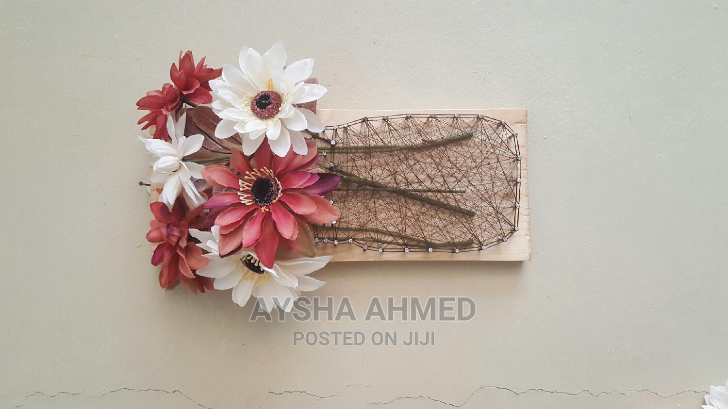 Archive: Floral String Wall Decor
