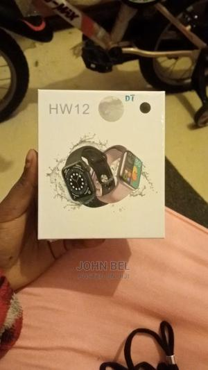 Hw12 Smart Watch 2021 | Smart Watches & Trackers for sale in Addis Ababa, Kolfe Keranio