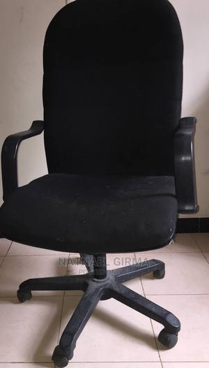 High Back Fabric Chair (2 Pieces) | Furniture for sale in Addis Ababa, Lideta