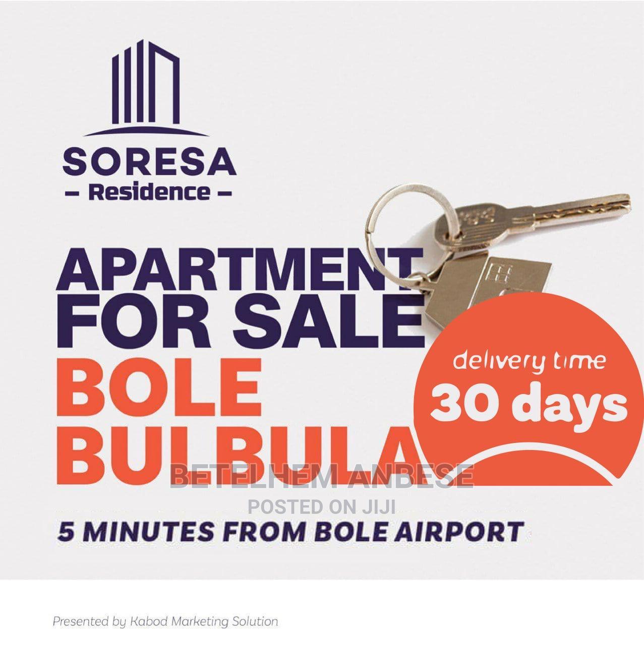 3bdrm Apartment in Soresa Residence, Bole for Sale