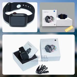 HW12 Smart Watch 2021 Model | Smart Watches & Trackers for sale in Addis Ababa, Kolfe Keranio