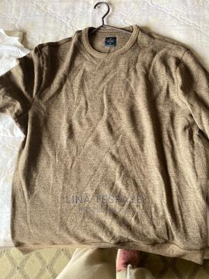 Brown Long Sleeve Shirt for Men | Clothing for sale in Addis Ababa, Kirkos