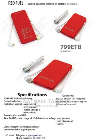 Redfuel High Quality Powerbank | Accessories for Mobile Phones & Tablets for sale in Addis Ababa, Akaky Kaliti