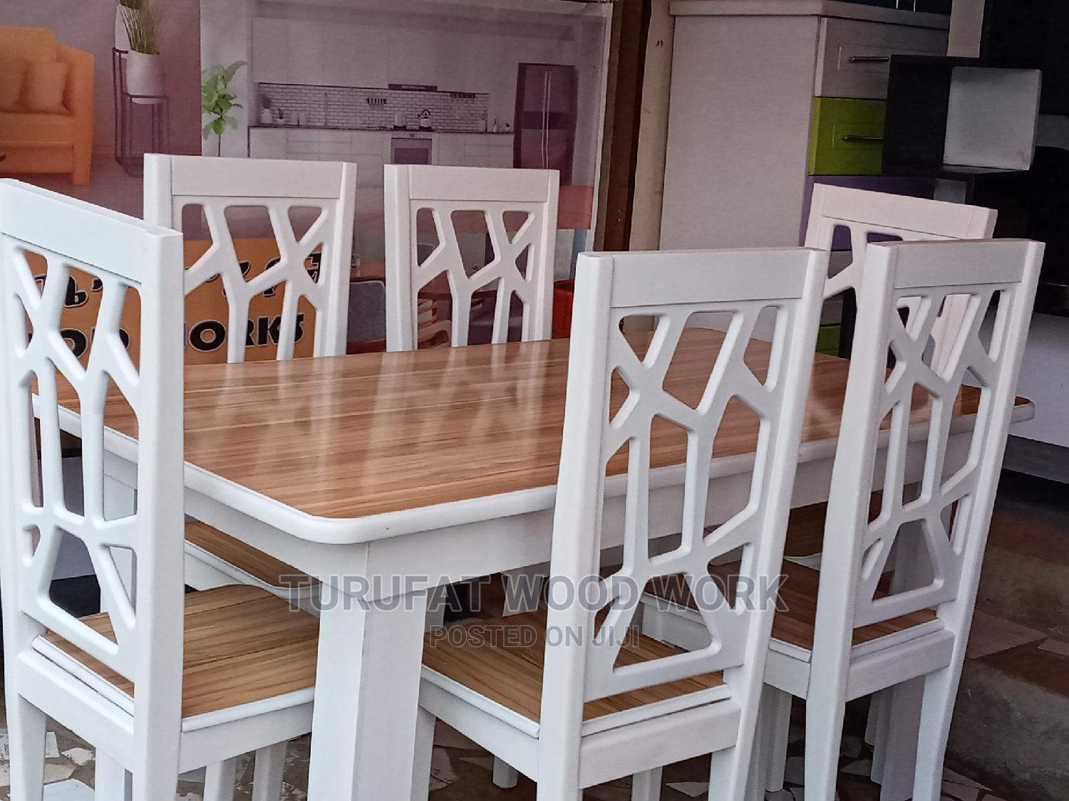 New Dining Table(6 Chairs)