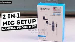 Boya Dual Universal Microphone | Audio & Music Equipment for sale in Addis Ababa, Yeka