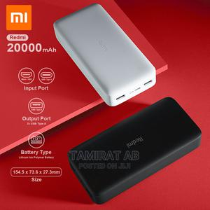 20,000 Mah Redmi Fast Charge Power Bank | Accessories for Mobile Phones & Tablets for sale in Addis Ababa, Yeka