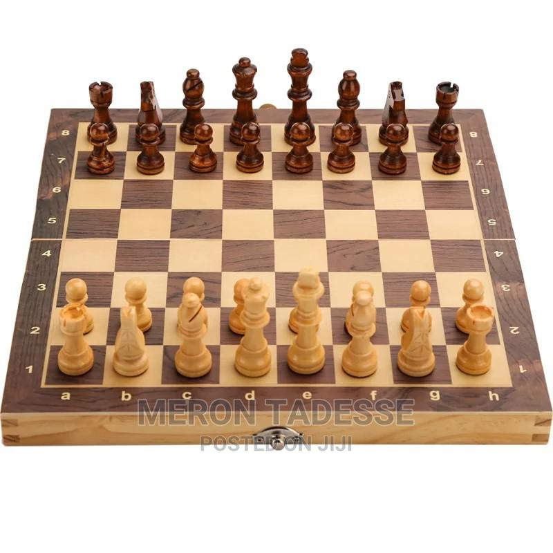 Brain Booster3in1 Chess Checkers Backgammon Board