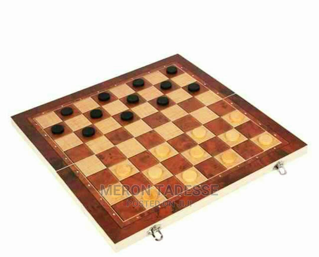 Brain Booster3in1 Chess Checkers Backgammon Board   Books & Games for sale in Nifas Silk-Lafto, Addis Ababa, Ethiopia