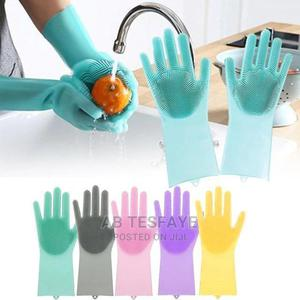 Magic Silicone Dish Washing Gloves | Kitchen & Dining for sale in Addis Ababa, Lideta