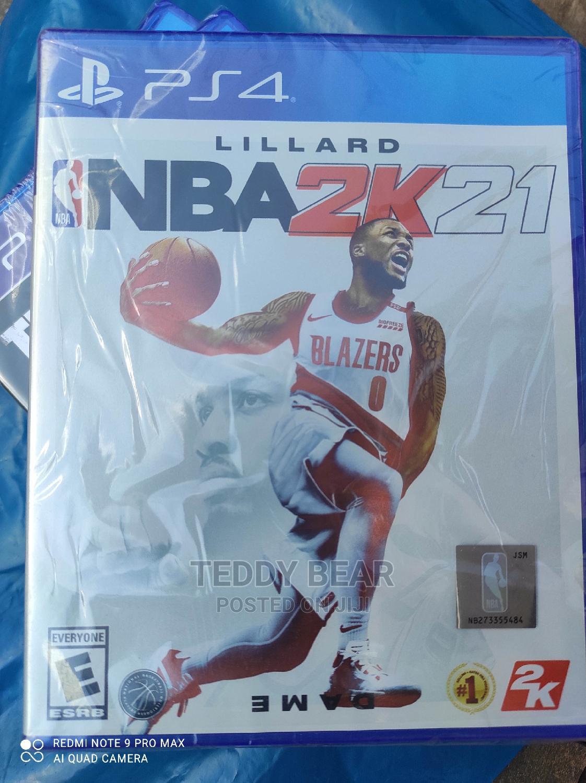 NBA 2K21 Playstation 4 ( Ps4 Game )
