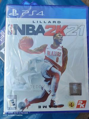 NBA 2K21 Playstation 4 ( Ps4 Game )   Video Games for sale in Addis Ababa, Bole
