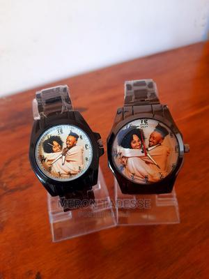 ¤ የእጅ እና የግርግዳ ሰዓት ላይ ፎቶ አሰርታችሁ ስጦታ ለሰርግ ለፍቅረኛ ለልደት ለምርቃት   Watches for sale in Addis Ababa, Nifas Silk-Lafto
