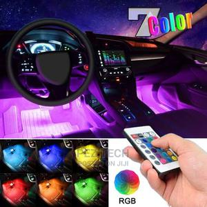 CAR Decor Interior LED Lights With Remote | Vehicle Parts & Accessories for sale in Addis Ababa, Bole