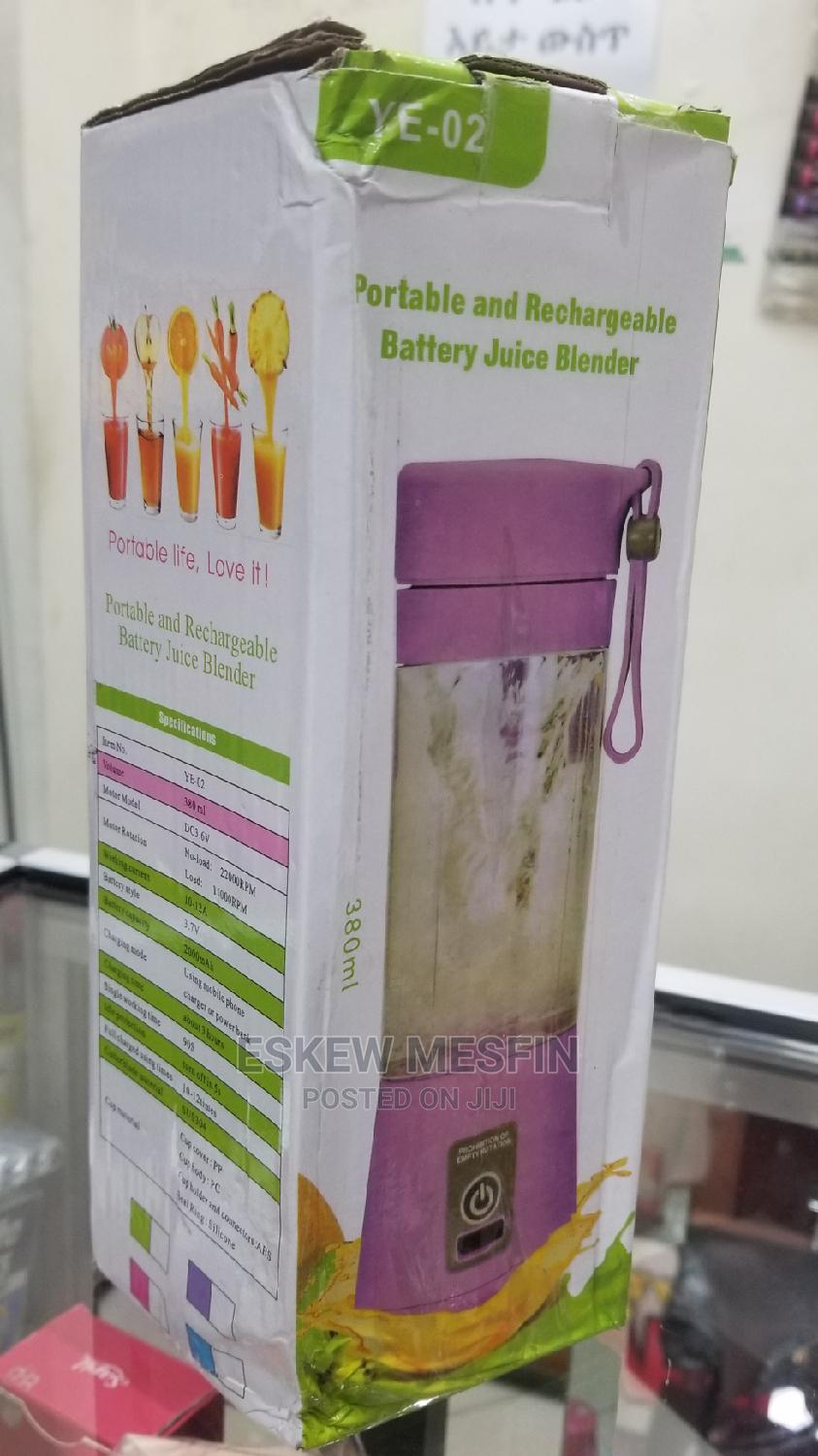 Juice Blender Rechargeabel and Portable   Home Appliances for sale in Lideta, Addis Ababa, Ethiopia