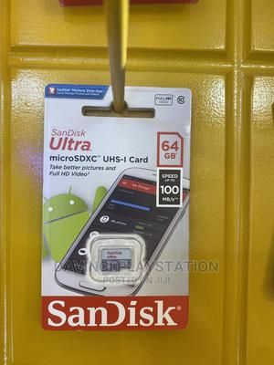 Sandisk Memory Card 64 GB Speed 100 MB/S | Computer Hardware for sale in Addis Ababa, Bole