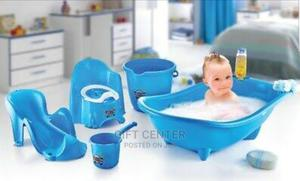 Dunya Baby Bath Seat Set And Potty.0-10 Months Up To 8kg.   Baby & Child Care for sale in Addis Ababa, Yeka