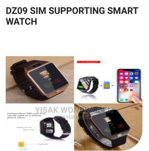 Dz09 SIM Supporting Smart Watch | Smart Watches & Trackers for sale in Addis Ababa, Bole