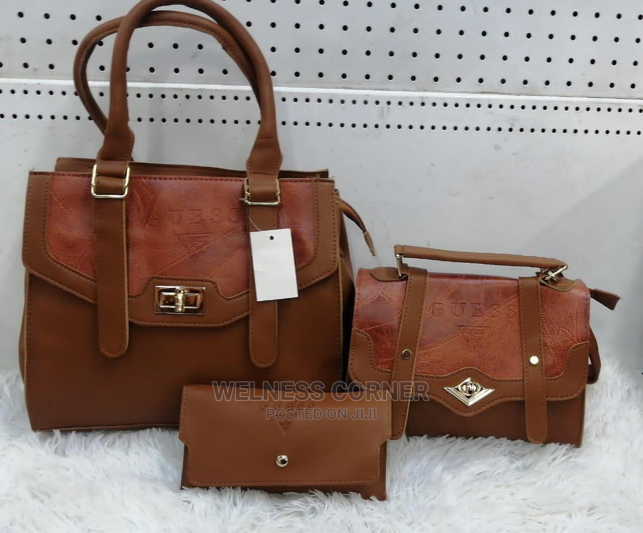 Ladies Hand Bag 3 Pieces   Bags for sale in Arada, Addis Ababa, Ethiopia
