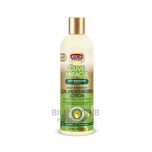 African Pride Olive Miracle Moisturizing Hair Lotion | Hair Beauty for sale in Addis Ababa, Nifas Silk-Lafto