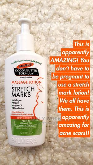 Palmers Cocoa Butter Formula Strech Marks Massage Lotion | Skin Care for sale in Addis Ababa, Nifas Silk-Lafto